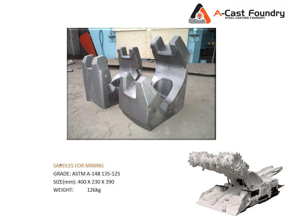 Steel Casting Saddles for Mining