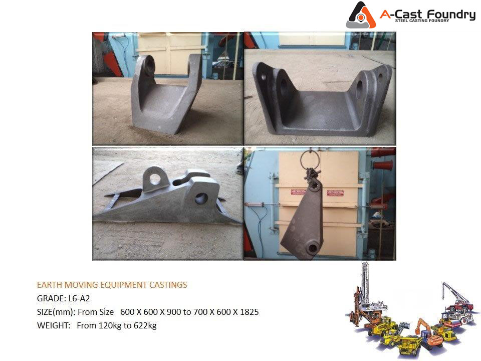Steel Casting Earth Movig Equipment Casting